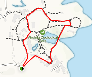 Virginia Zoo Trail Map