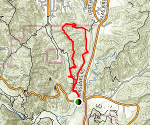 Talepop / Las Virgenes Loop Trail Map
