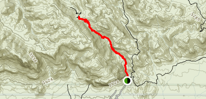 Peralta Trail Map