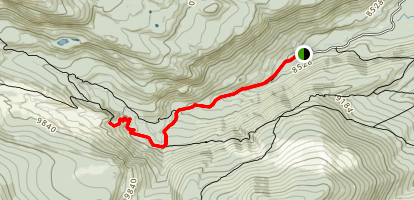 Ouzel Falls Trail Map