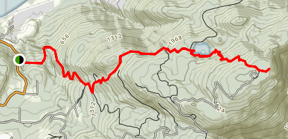 Sumas Mountain Trail Map