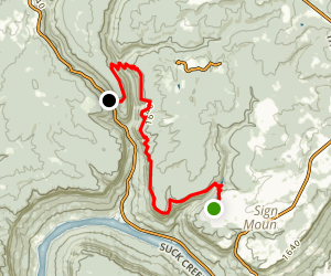 Edwards Point Trail Map