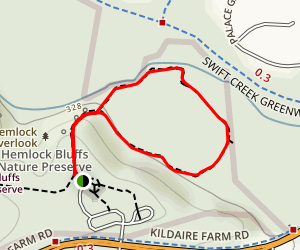 Swift Creek Loop Trail Map
