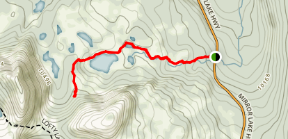 Ruth Lake Trail Map