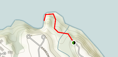 SeaLodge Beach Trail Map