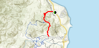 Backside and Bench Trail Map