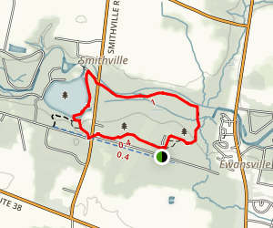 Historic Smithville County Park Trail Map