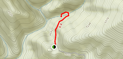 Crystal Cave Trail Map