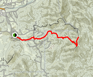 Atalaya Mountain Trail Map