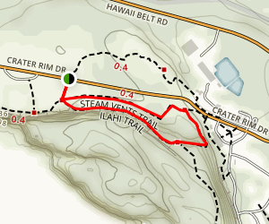 Sandalwood (Iliahi) Trail Map