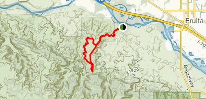 Pollock Trail Map