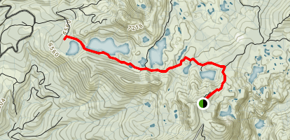 Round Lake Trail Map