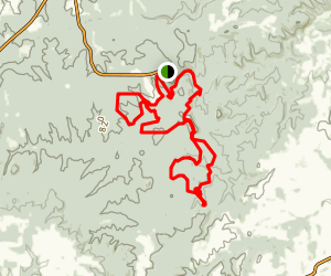 Hawn State Park Trail Map