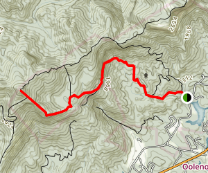 Pinnacle Mountain Trail Map