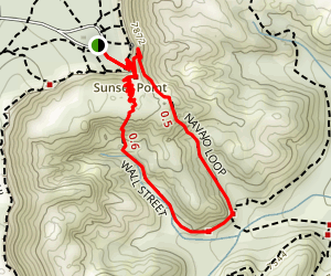 Navajo Loop Trail Map