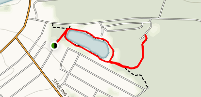 Arnold Park River Loop Trail Map