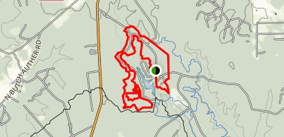 Double Lake Trail Map