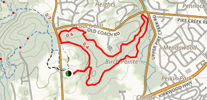 Chestnut Hill Trail Map