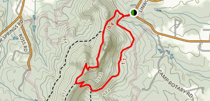 Tower Trail and Backside Trail Loop Map