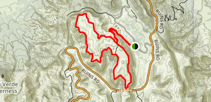 Prater Ridge Trail Map