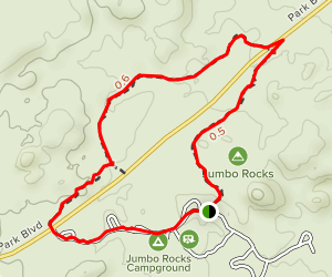 Skull Rock Nature Trail Map