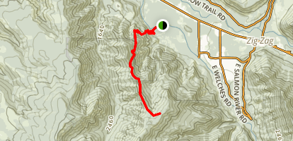 Boulder Ridge Trail Map