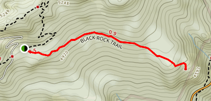 Black Rock Nature Trail Map