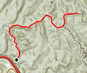 Pinch-Em Tight Trail Map