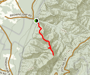 Furnace Mountain Trail Map