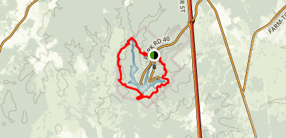 Chinquapin Loop Trail Map