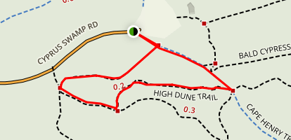 High Dune Trail Map