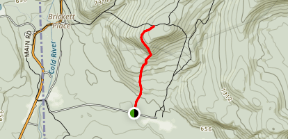 White Cairn Trail Map