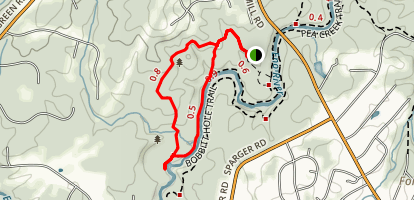 Bobbitt Hole Trail Map