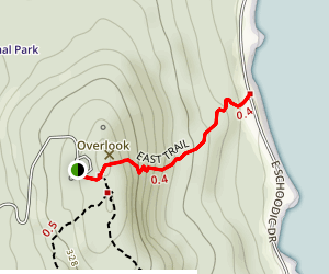 East Trail Map
