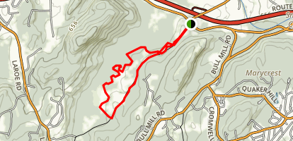 Goose Pond Mountain - Bike Trails Map