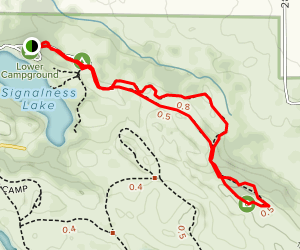 High Peak Trail Map