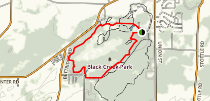 Black Creek Trail Map
