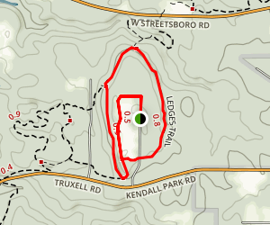 Ledges Trail Map
