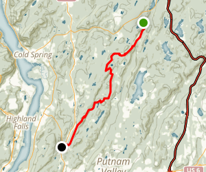 Appalachian Trail: Fahnestock State Park Map