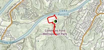 Commons Ford Ranch Map
