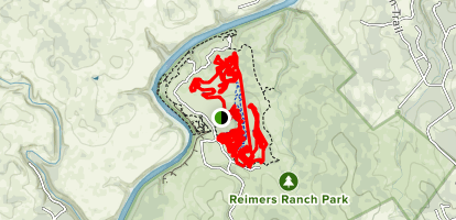 Milton Reimer's Ranch Trail Map