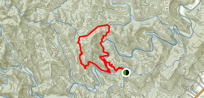 Mullinax Loop Trail Map