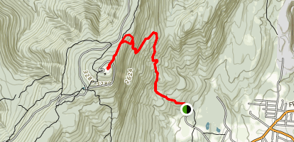 Thunderbolt Ski Trail Map
