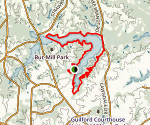 Greensboro Trails Map