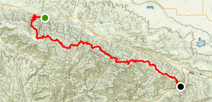 Horse Camp Trail Map