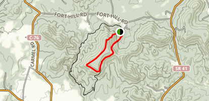 Fort Trail Map