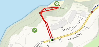 Hideaway Beach Trail Map