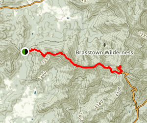 Arkaquah Trail Map