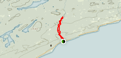 Superior Hiking Trail: Cascade River Loop Map