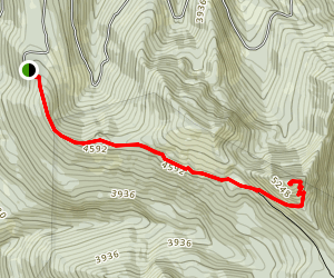 Tonga Ridge and Mount Sawyer Map